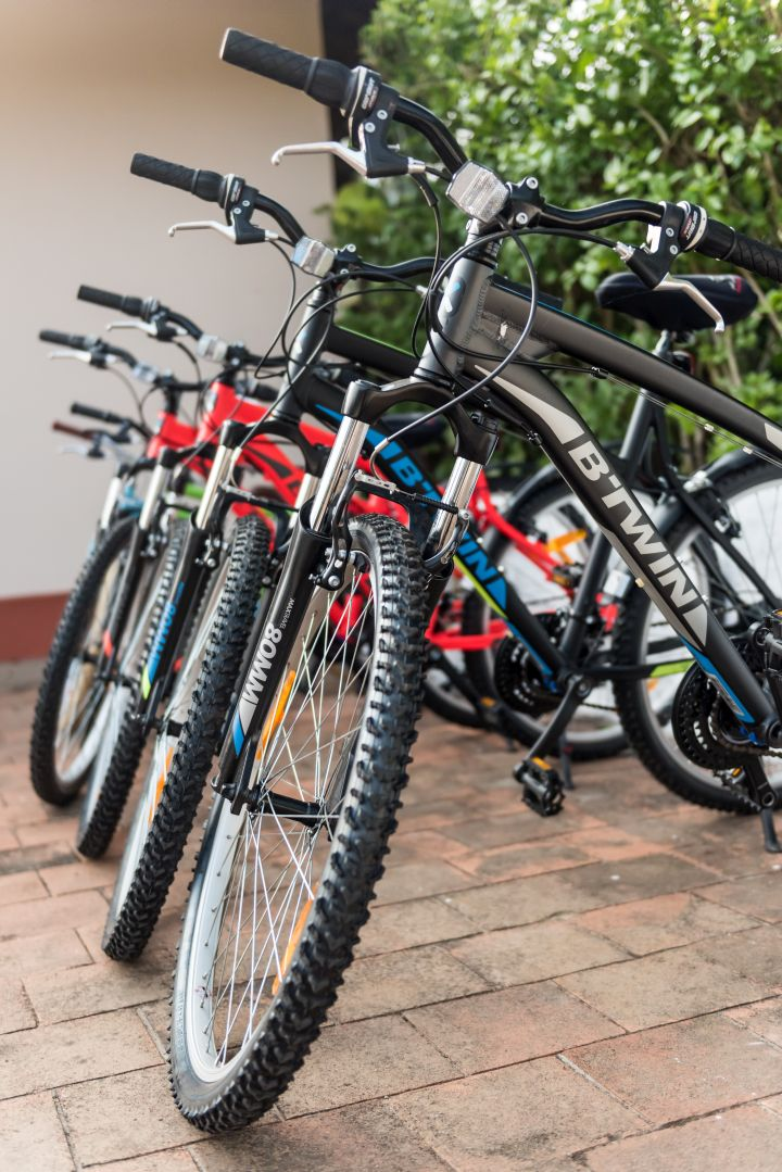 The Retreat - Mountain bikes with gear for you to explore the plantation