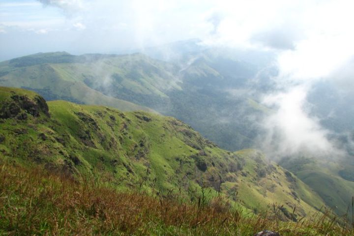 Tadiandamol Hills, Trekkers can reach the highest point in Coorg - 35 km from Magnolia