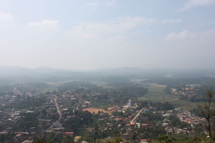 Virajpet - A view of the valley